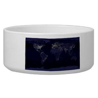 Earth at Night Bowl