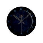 Earth at Night Wall Clock