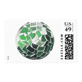 """Earth Ball"" - Postage Stamp"
