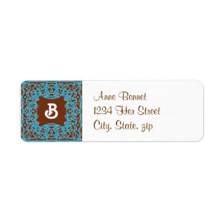 Earth Bandanna address label