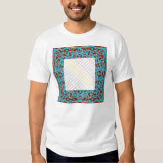 Earth Bandanna picture frame t-shirt