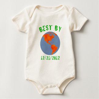 Earth: Best by 2012 Baby Bodysuit