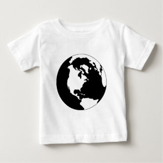 Earth - Black and White Baby T-Shirt
