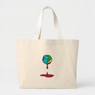 Earth (Bleeding) Canvas Bag