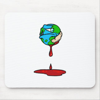 Earth (Bleeding) Mouse Pad