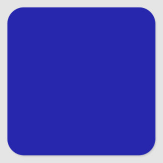 Earth Blue Large Square Sticker