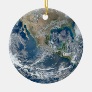 Earth blue marble Ornament