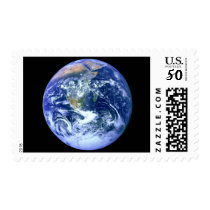 Earth Blue Marble Postage