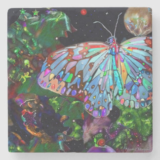 Earth Bound Creatures Stone Coaster