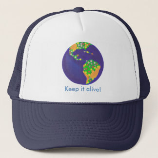 Earth bouquet - Keep it alive Earth Day hats
