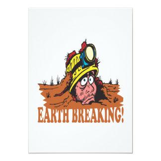 Earth Breaking Card