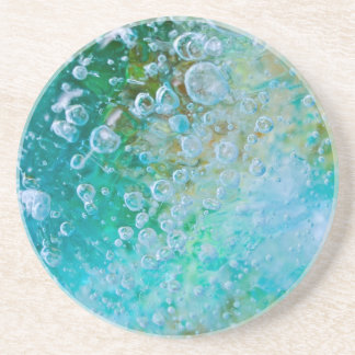 Earth Bubble Drink Coaster