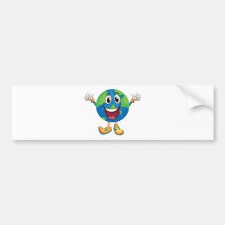 Earth Car Bumper Sticker