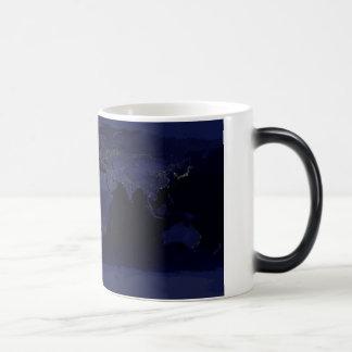 Earth By Night - Morphing Mug