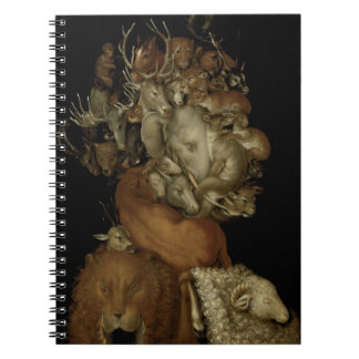 Earth, c.1570 (oil on panel) notebook