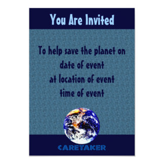 Earth Caretaker Card