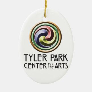 Earth Center Pottery Hanging Medallion Ceramic Ornament
