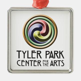 Earth Center Pottery Square Ornament
