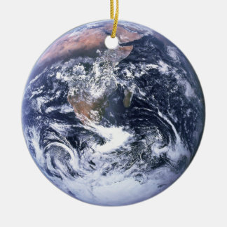 Earth Ceramic Ornament