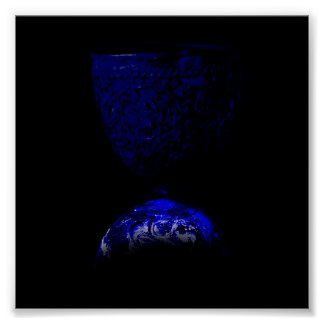 Earth Chalice Sigil Poster