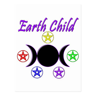 Earth Child Post Card