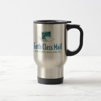 Earth Class Mail dual logo commuter mug
