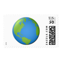 Earth Classic 3D Postage
