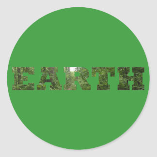 Earth Classic Round Sticker
