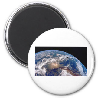 Earth closeup magnet