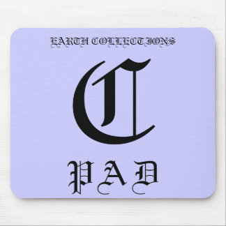 EARTH COLLECTIONS ALPHABET PADS MOUSE PAD