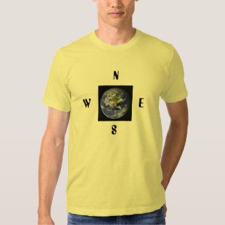 EARTH COLLECTIONS N, E, S, W SHIRTS FOR ALL