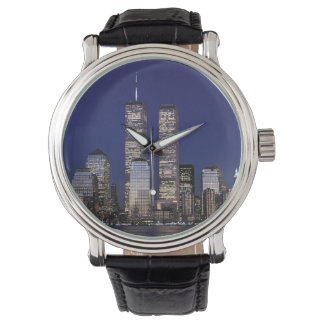 Earth Collections Twin Towers Watch New York City