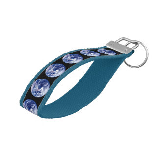 Earth Collections Wristband Keychain