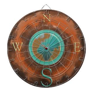 Earth Compass Dart Board