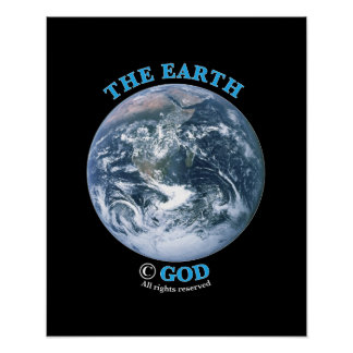Earth Copyright Poster