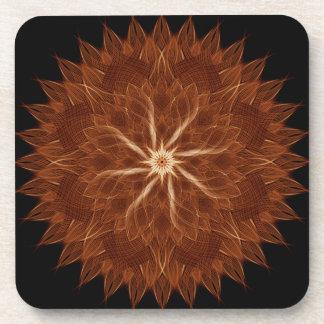 Earth Curves Mandala Coaster