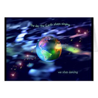 Earth Dance Card