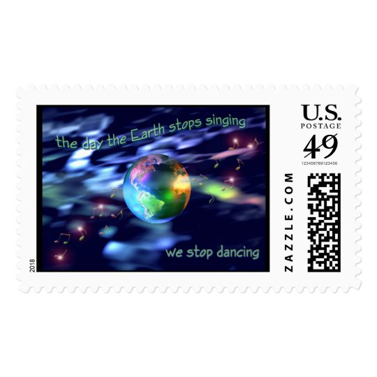 Earth Dance Postage