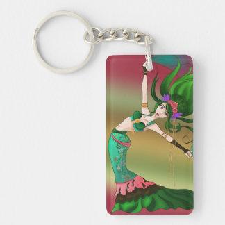 Earth Dancer Keychain