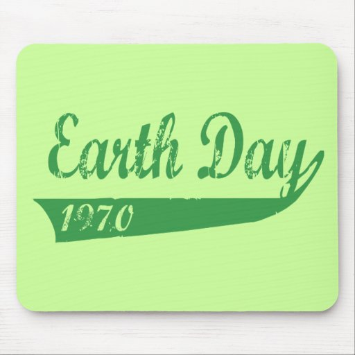 Earth Day 1970 Mousepads