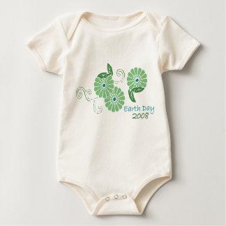 Earth day 2008 baby bodysuit