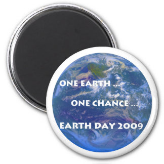 Earth Day 2009 2 Inch Round Magnet