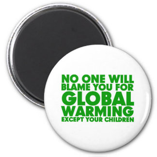 Earth Day 2009, April 22, Stop Global Warming 2 Inch Round Magnet