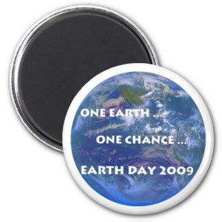 Earth Day 2009 Fridge Magnet
