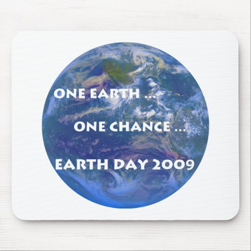 Earth Day 2009 Mouse Pads