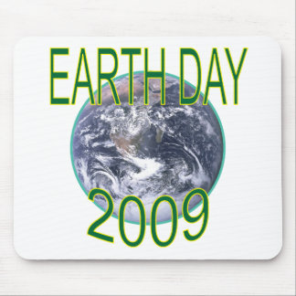 Earth Day 2009 Photo of Earth Tees and Gifts Mouse Pad