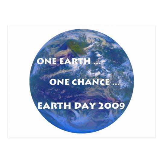 Earth Day 2009 Postcard