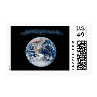 Earth Day 2009 POSTER Postage Stamp