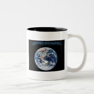 Earth Day 2009 POSTER Two-Tone Coffee Mug