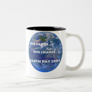 Earth Day 2009 Two-Tone Coffee Mug